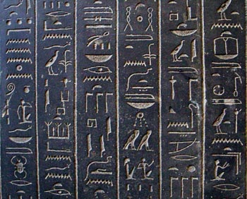 ancient Egypt Hieroglyphics
