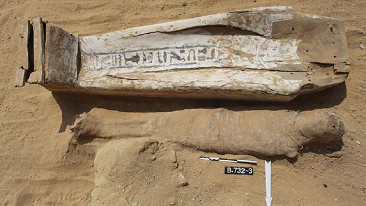 A Strange Egyptian burial with 'Nonsense' Hieroglyphs
